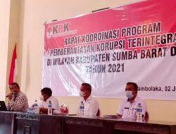 KPK Supervisi Pemkab Sumba Barat Daya, Nilai MCP Terendah di NTT