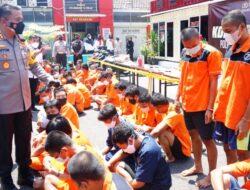 Dua Minggu, Polres Tanjung Perak Ciduk 46 Pelaku Narkoba