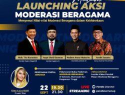 LIVE! Malam Launching Aksi Moderasi Beragama