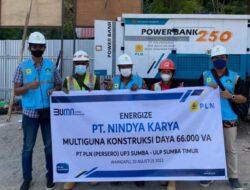 Pasca Badai Seroja, PLN Dukung Kelistrikan Pembangunan Bendungan Lambanapu