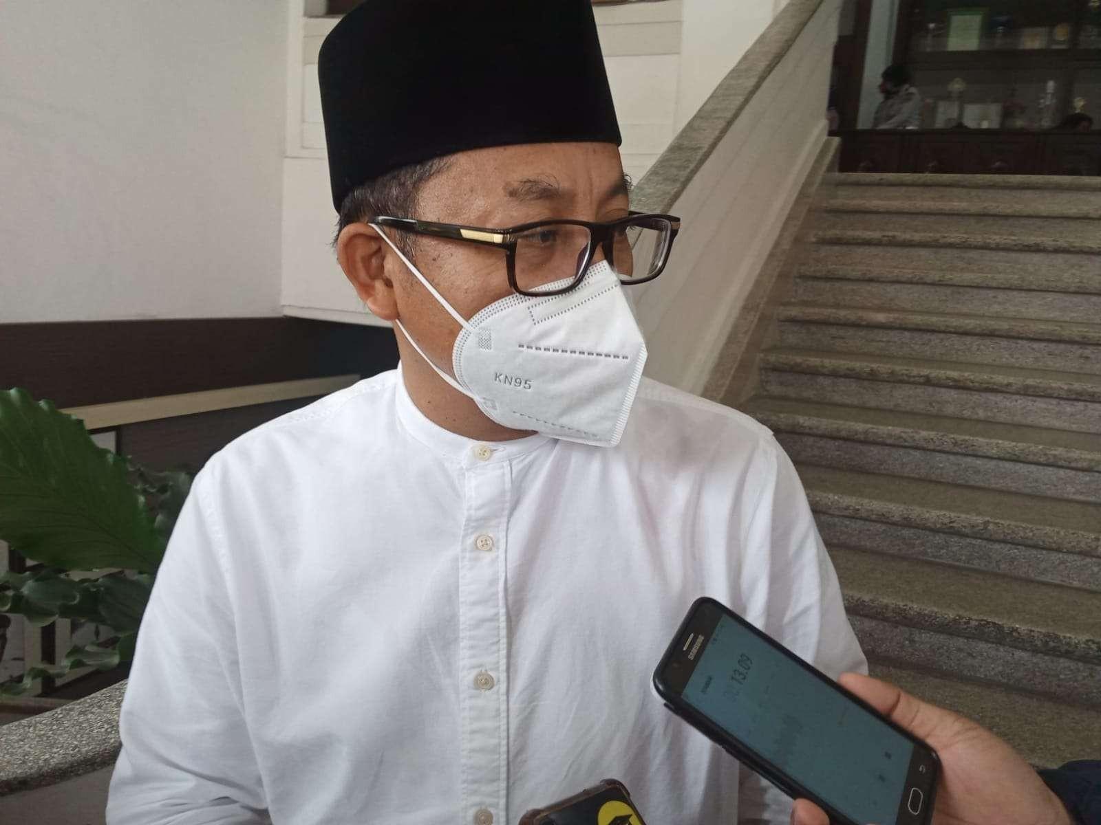 Walikota Malang, Sutiaji saat ditemui di Balai Kota Malang. (Foto: Lalu Theo/Ngopibareng.id)
