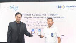 Askrindo-TekenAja Akselerasi Penerbitan Polis Asuransi Fully Digital