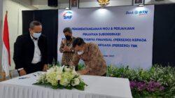 Dukung Peningkatan Peran BTN dalam PEN, SMF Alirkan Pinjaman Subordinasi Sebesar Rp1,5 Triliun
