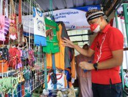Lama Tak Jualan, Pedagang ini Senang Dagangannya Diborong Ganjar