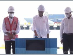 Presiden meresmikan Pelabuhan Multipurpose Wae Kelambu Labuan Bajo