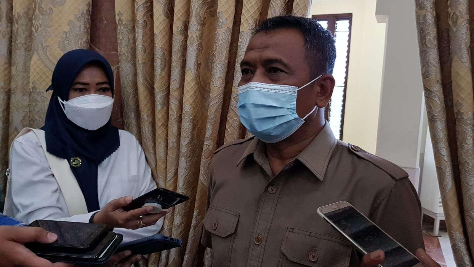 Kadispendik Surabaya, Supomo. (Foto: Fariz Yarbo/Ngopibareng.id)